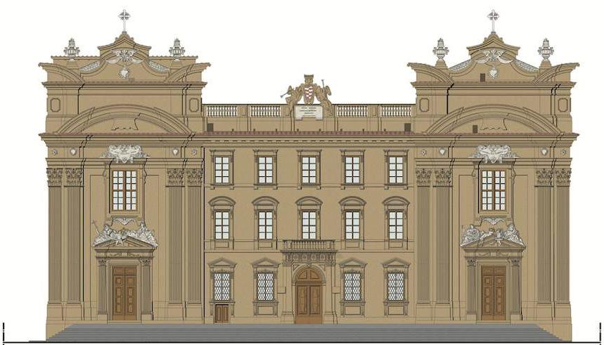 Complesso di San Firenze, facciata