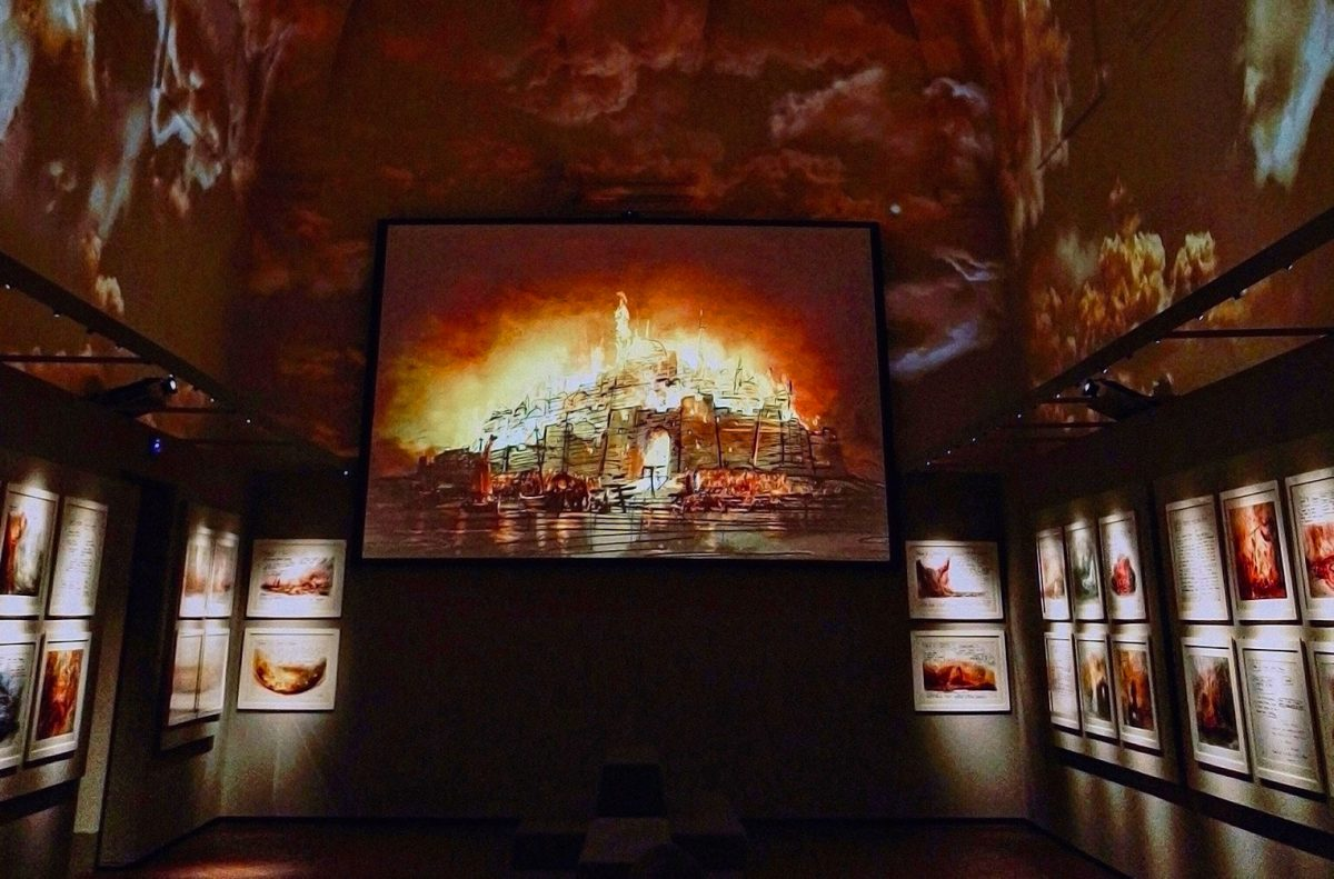 The Inferno Room Zeffirelli Museum