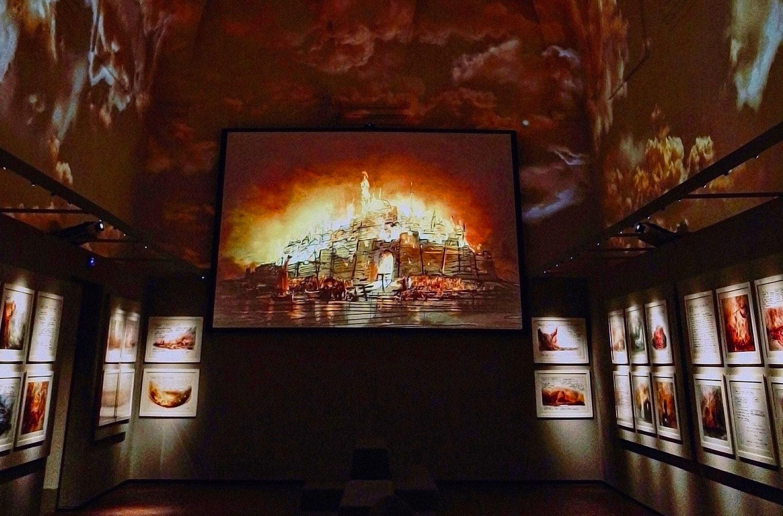 The Inferno Room Zeffirelli Museum