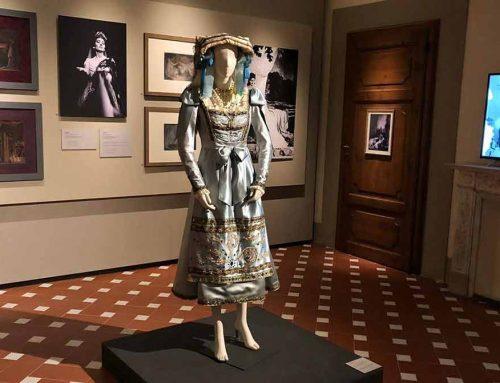 Il nuovo abito di Maria Callas per mano dei Maestri Artigiani Fiorentini