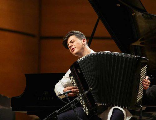 Concerto di Lorenzo Albanese, la fisarmonica che ha vinto l'Amadeus Factory