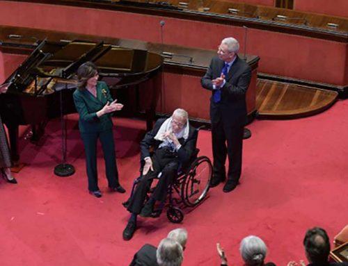 L'omaggio del Senato al Maestro Zeffirelli