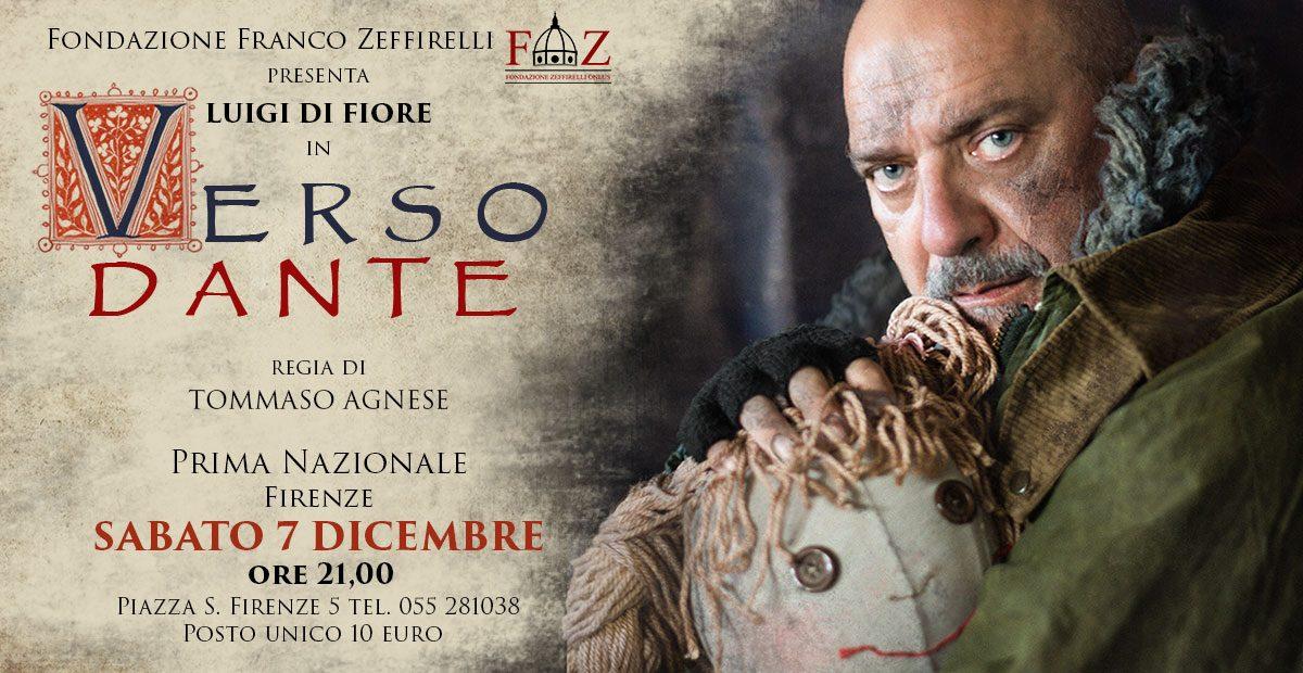 Luigi di Fiore in Verso Dante – Prima Nazionale