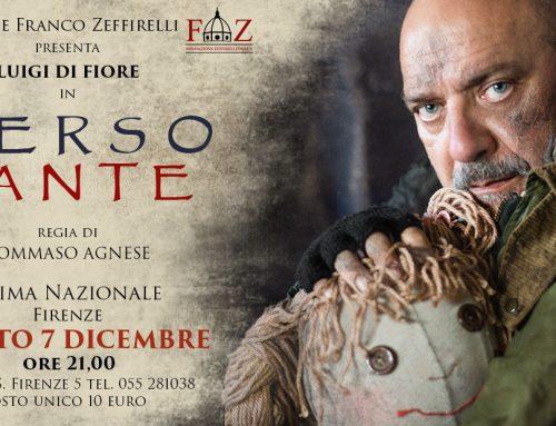 """Luigi di Fiore in """"Verso Dante"""" – Prima Nazionale 7 dicembre"""