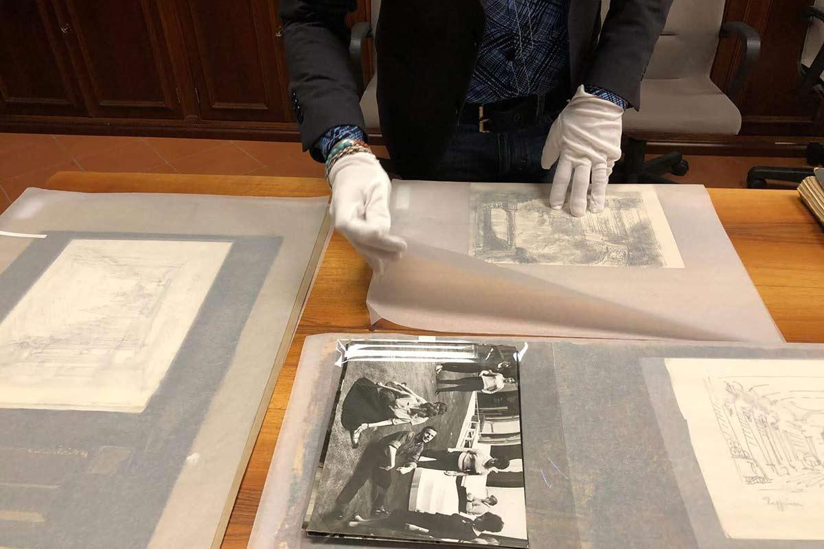 L'Archivio Zeffirelli - Bozzetti e Schizzi di Zeffirelli