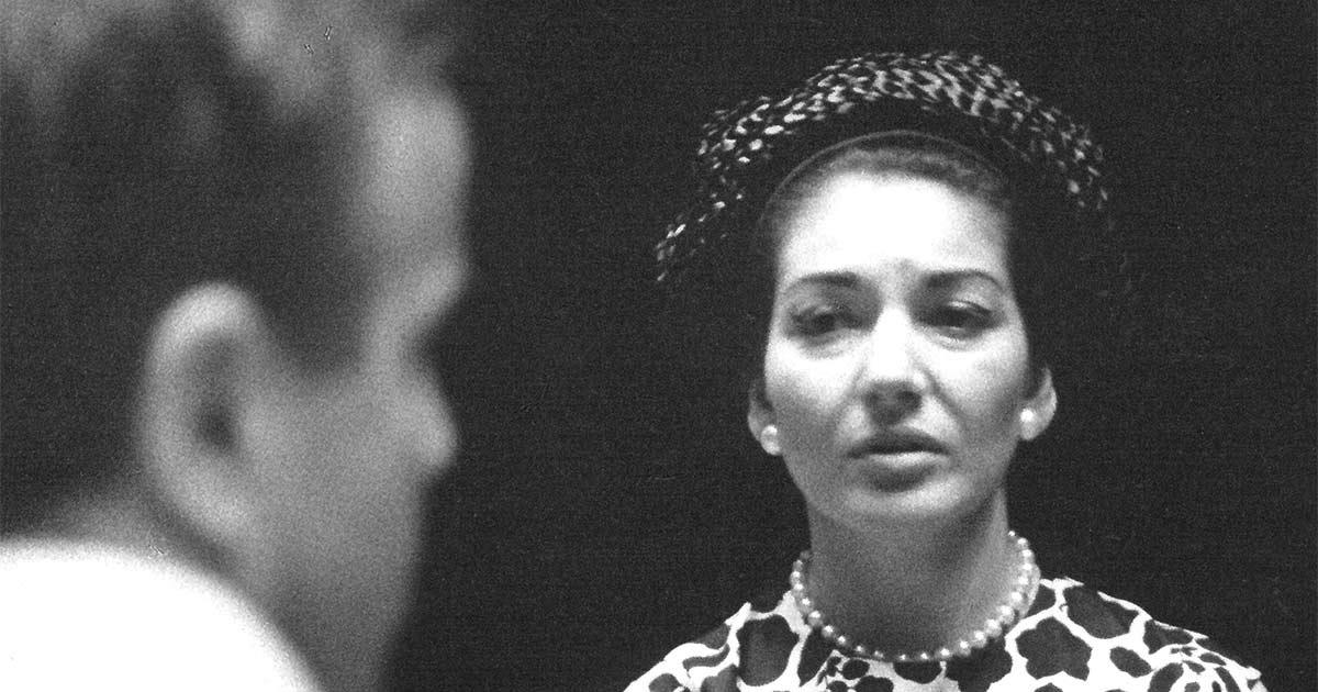 Franco Zeffirelli Collection Opera in Music Maria Callas