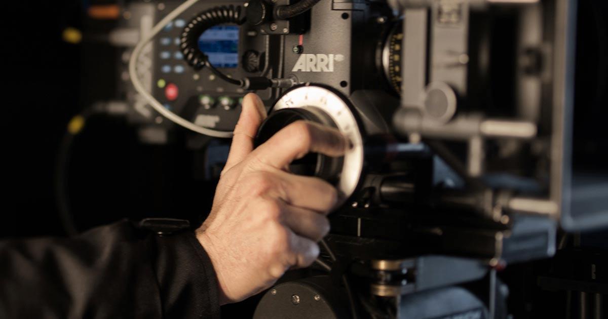 corso di ripresa cinematografica