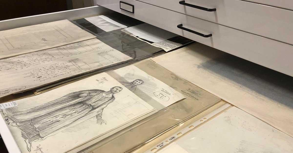 Archivio Zeffirelli - Bozzetti e Schizzi di Zeffirelli