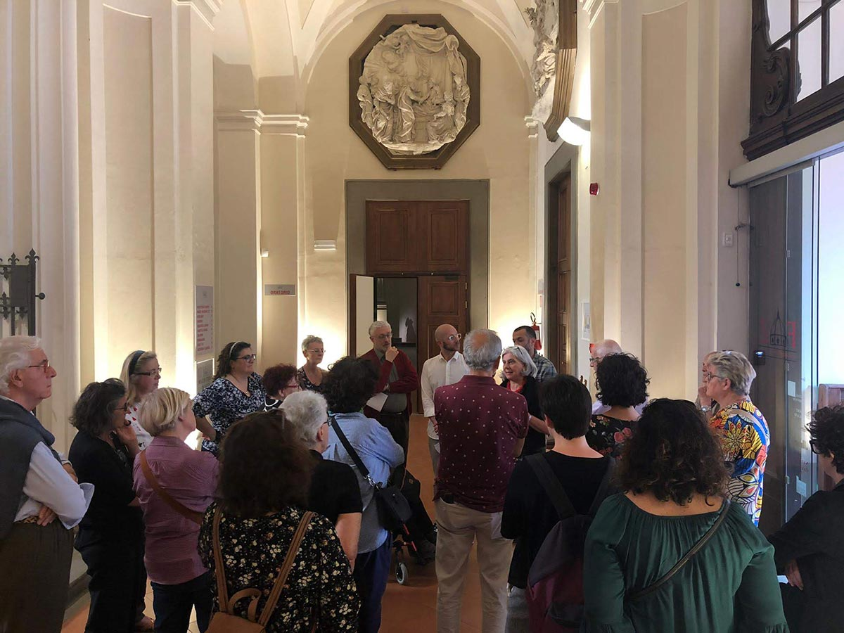 Group visits to the Zeffirelli Museum guided by the staff