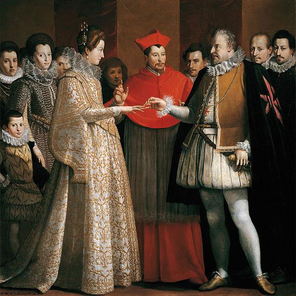 Matrimonio di Maria de' Medici e Enrico IV - Jacopo da Empoli