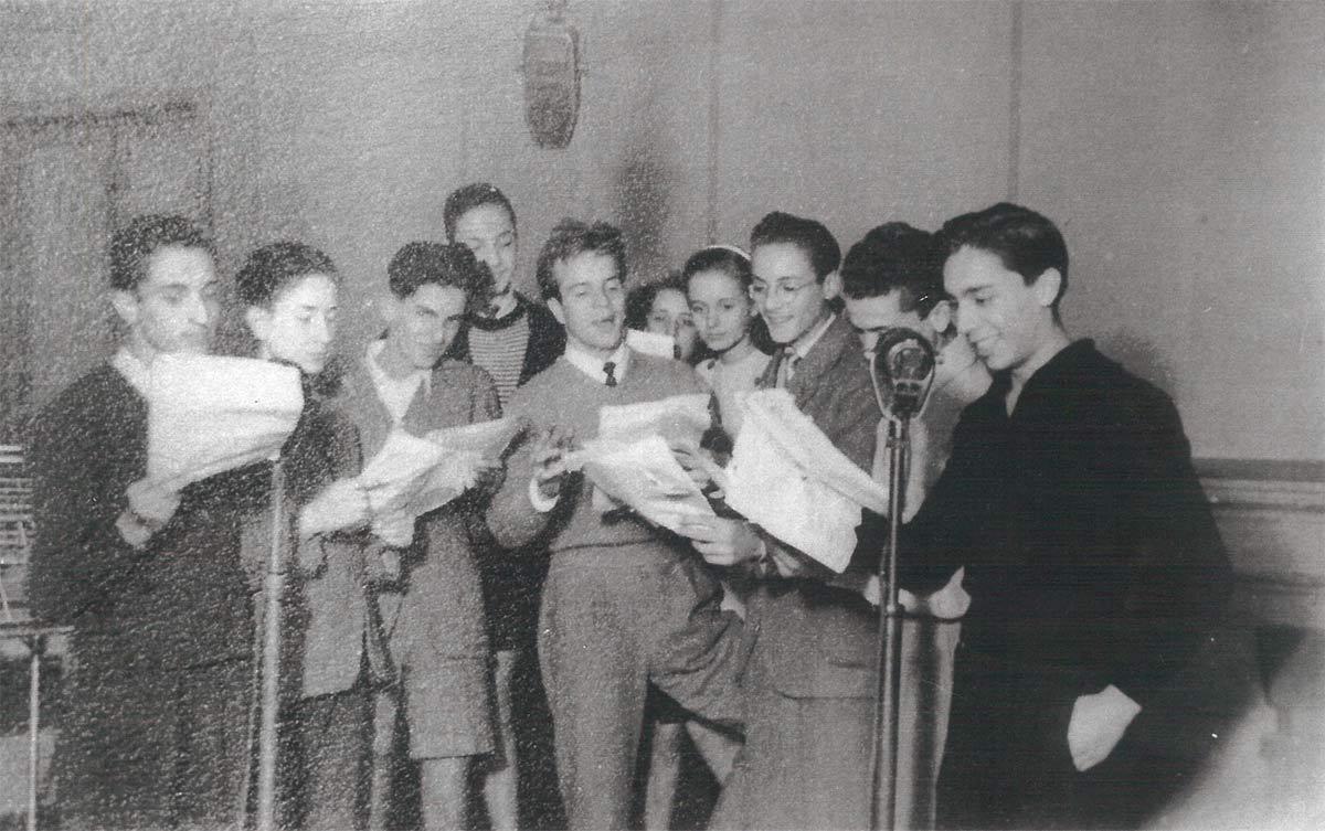 Zeffirelli con Alberti, Firenze