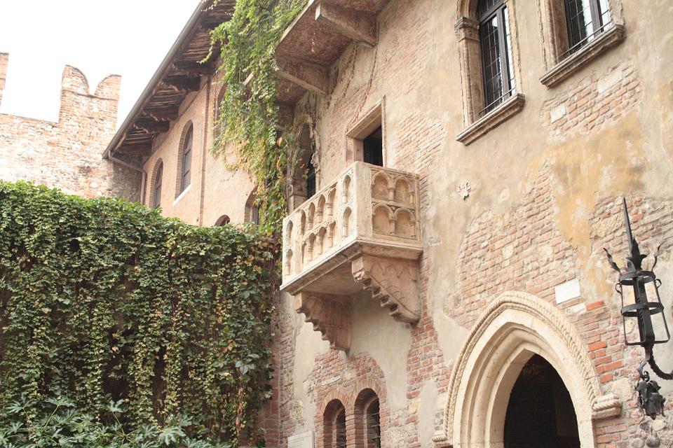 Balcone a Verona Romeo e Giulietta
