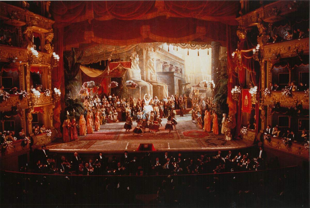 Allestimento Aida Milano 1963 - Il Giovane Toscanini
