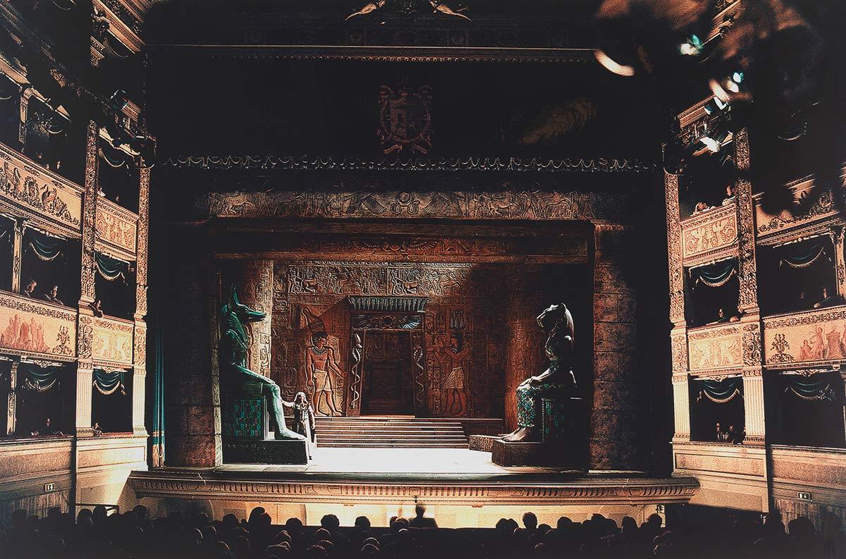 Aida di Giuseppe Verdi, Busseto, 2001