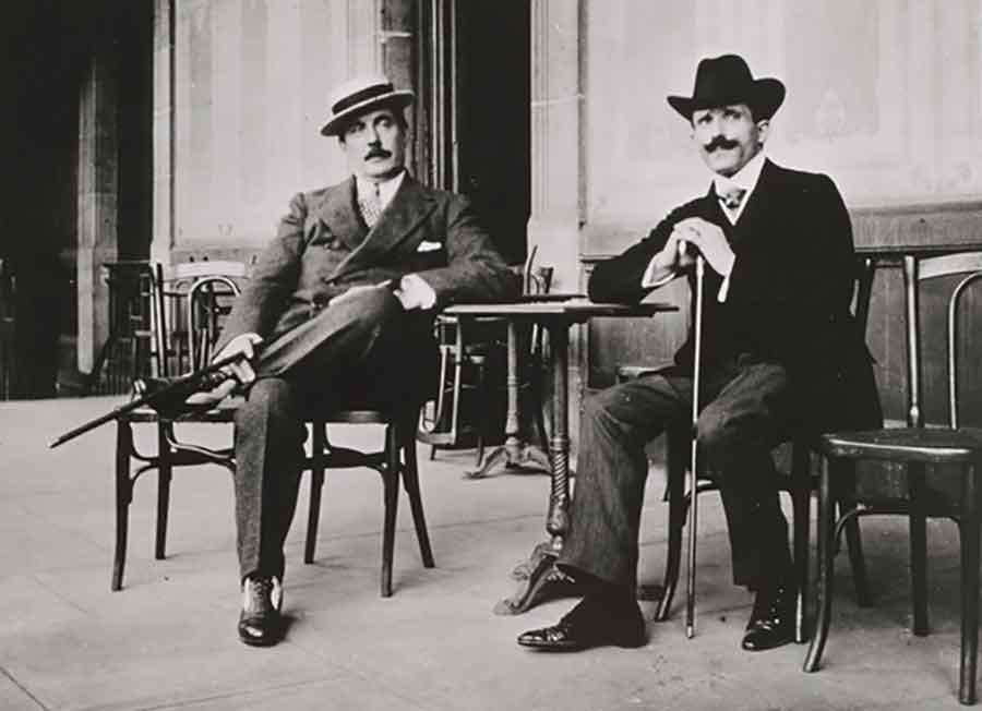 Arturo toscanini e Giacomo Puccini