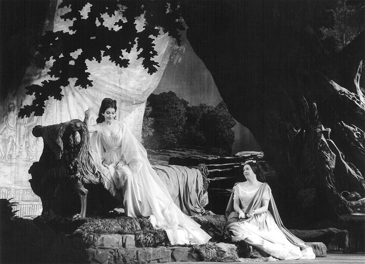 Maria Callas e Fiorenza Cossotto - Norma, Parigi 1964