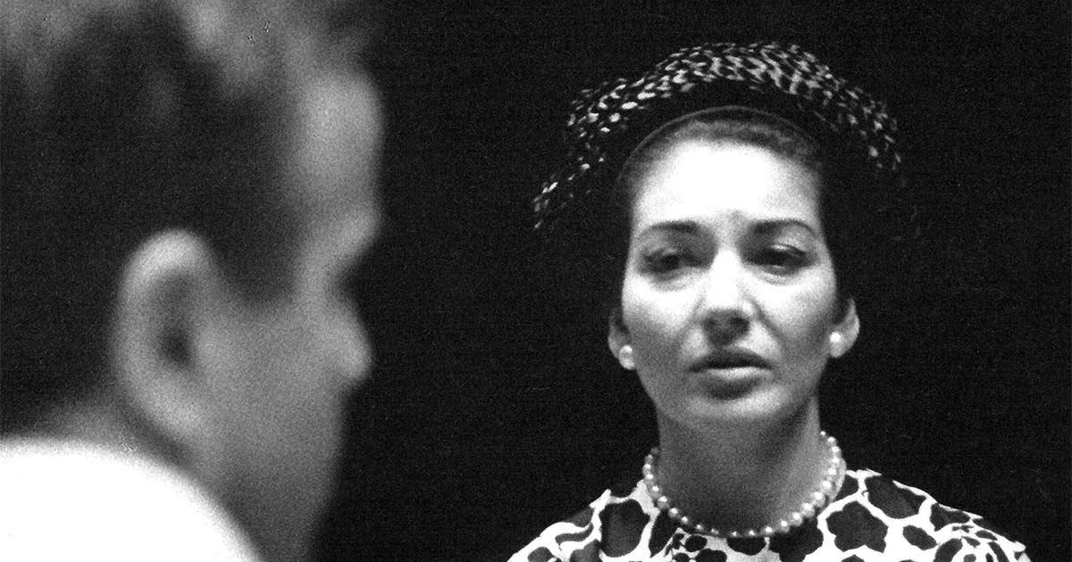 Maria Callas e Franco Zeffirelli