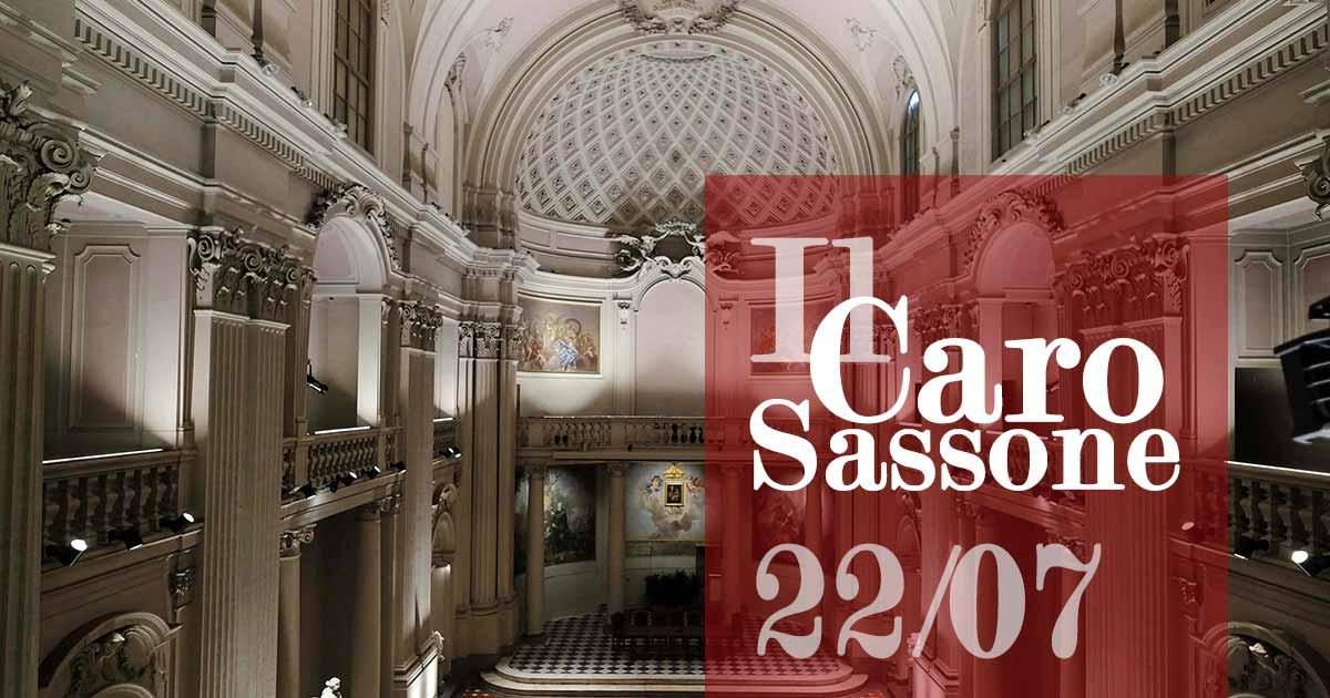 Il caro Sassone concerto