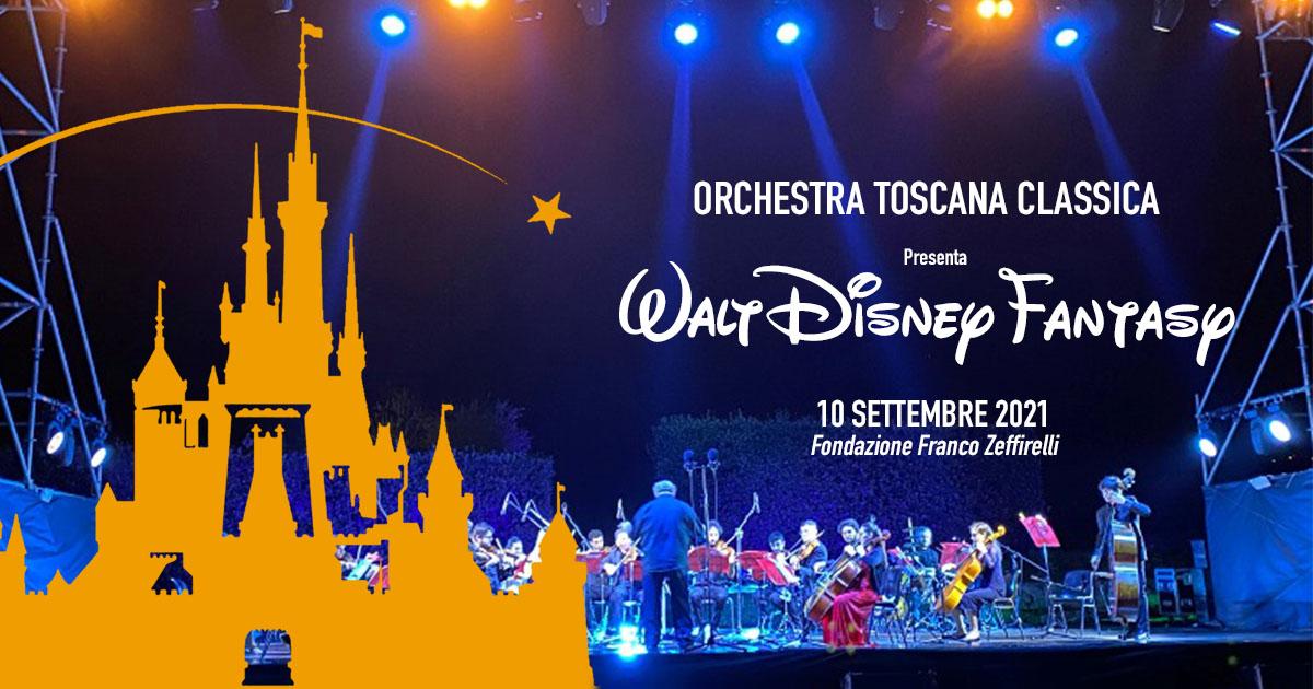 concerto Walt Disney Fantasy Maestro Giuseppe Lanzetta